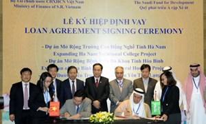 Lễ ký hiệp định vay 29 triệu USD nâng cấp hạ tầng giao thông, y tế