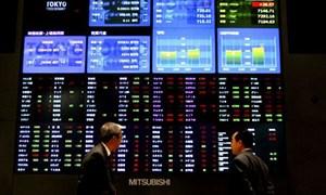 Thị trường chứng khoán Châu Á đỏ sàn sau giá dầu giảm