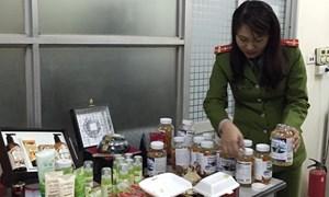 Tạm giữ gần 18.000 mỹ phẩm, thực phẩm chức năng không rõ nguồn gốc
