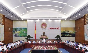 Chính phủ họp phiên thường kỳ đầu tiên sau kiện toàn