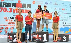 Vietjet chào đón các vận động viên quốc tế cuộc thi IRONMAN 70.3 Vietnam đến Đà Nẵng
