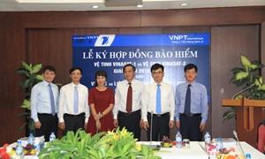 Lễ ký kết Hợp đồng bảo hiểm cho Vệ tinh Vinasat 1 và Vinasat 2