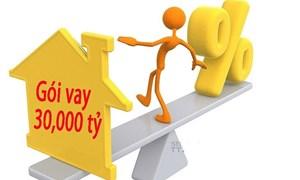 Cho vay gói 30.000 tỷ đồng: Tạm dừng giải ngân, chờ thông tư hướng dẫn