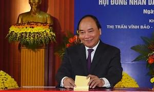 Thủ tướng, 3 Phó Thủ tướng trúng cử đại biểu Quốc hội với tỷ lệ cao