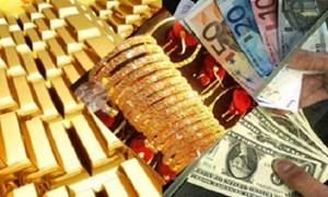 Giá vàng thế giới ngày 23/8 sụt giảm