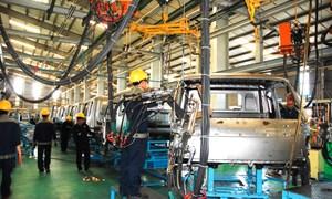8 tháng năm 2016, chỉ số sản xuất công nghiệp tăng 6,9%