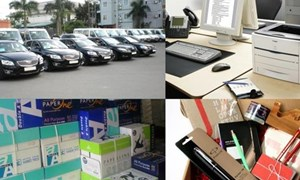 Tạo lập cơ sở pháp lý để quản lý chặt chẽ tài sản công