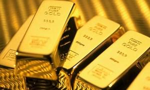 Giá vàng thế giới sụt giảm