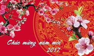 Bộ trưởng Bộ Tài chính Đinh Tiến Dũng gửi Thư chúc mừng năm mới 2017