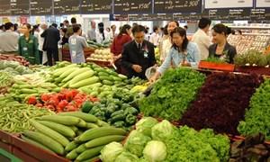 Tháng 2, chỉ số giá tiêu dùng tăng nhẹ