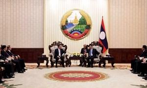 Bộ trưởng Bộ Tài chính Đinh Tiến Dũng kết thúc tốt đẹp chuyến công tác tại Lào