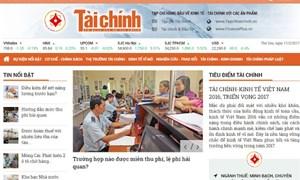 Bộ Thông tin và Truyền thông cấp giấy phép Tạp chí điện tử cho Tạp chí Tài chính