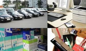 Gỡ vướng quy định về mua sắm thiết bị văn phòng cho đơn vị cấp huyện