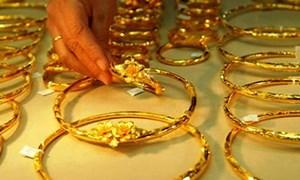 Giá vàng đầu tuần bật tăng