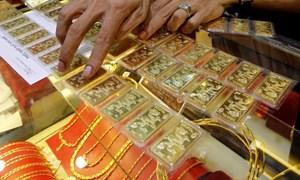 Giá vàng trong nước tăng, giảm trái chiều