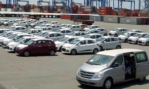 8 tháng năm 2017, lượng ô tô nhập khẩu của cả nước giảm mạnh