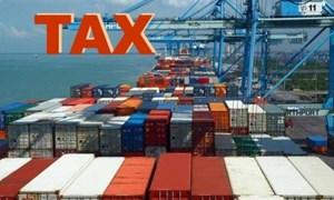 Hàng nhập khẩu trước khi thông báo Danh mục miễn thuế có được miễn thuế