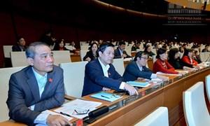 Luật Quản lý nợ công (sửa đổi) được Quốc hội thông qua với tỷ lệ số phiếu cao