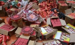 Nghệ An: Hơn 170 kg pháo nổ trái phép bị bắt giữ