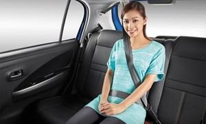 Từ 1/1/2018 chính thức xử phạt người ngồi sau trên ôtô không thắt dây an toàn