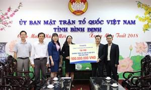 Thaco tặng 25 tỷ đồng ủng hộ người nghèo đón Tết