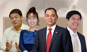 Năm 2018, Việt Nam có thêm 2 tỷ phú USD trong danh sách của Forbes