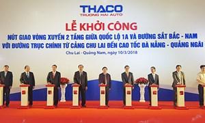 THACO đầu tư 600 tỷ đồng xây dựng nút giao trên Quốc lộ 1A