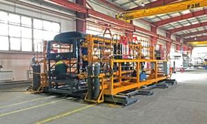 THACO chuyển giao công nghệ sản xuất xe bus Thaco cho đối tác tại Kazakhstan