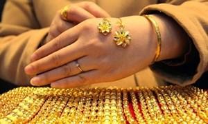 Giá vàng trong nước tiếp tục tăng ào ạt