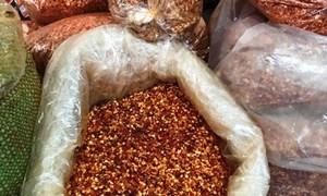 Phát hiện nhiều cơ sở sản xuất ớt bột có chất gây ưng thư gan vượt mức quy định