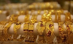Giá vàng trong nước dập dờn