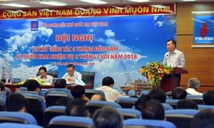 6 tháng đầu năm, tổng doanh thu của PVN đạt 284,5 nghìn tỷ đồng