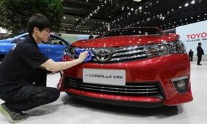 Ô tô Toyota bán chạy kỷ lục khi Mỹ - Trung đối đầu về thương mại