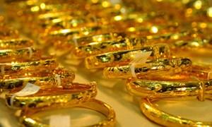 Giá vàng trong nước lặng sóng