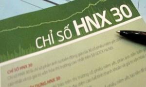 Thay 5 mã chứng khoán mới trong Bộ Chỉ số HNX30