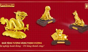 Xu hướng mới: Quà tặng bằng vàng lên ngôi