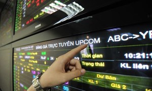Thị trường UPCoM năm 2018: Giá trị giao dịch tăng trên 50%