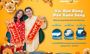 """""""Vui Rộn Ràng - Đón Xuân Sang"""" cùng BAOVIET Bank"""