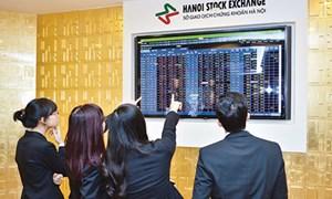 Tháng 1, HNX-Index tăng 5,4%, giá trị giao dịch cổ phiếu niêm yết tăng 52,7%
