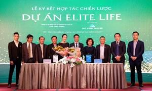 Ký kết hợp tác phát triển dự án Elite Life