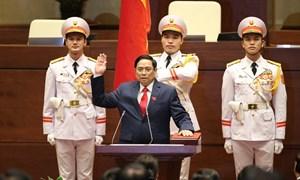 Tân Thủ tướng Chính phủPhạm Minh Chínhtuyên thệ nhậm chức