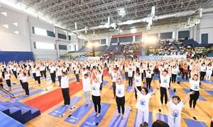 Bảo Việt Nhân thọ cùng 1.000 người dân TP. Hồ Chí Minh hưởng ứng tinh thần Yoga