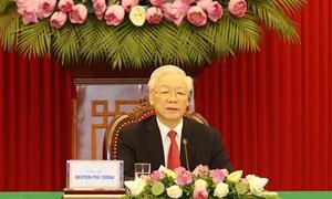 Tổng Bí thư Nguyễn Phú Trọng dự Hội nghị cấp cao giữa Ðảng Cộng sản Trung Quốc với các chính đảng trên thế giới