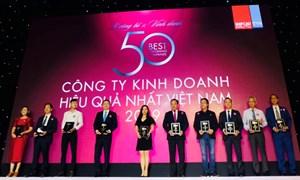 Bảo Việt - doanh nghiệp Việt tỷ đô trong Top 50 công ty kinh doanh hiệu quả nhất Việt Nam