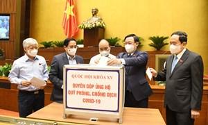 Quốc hội phát động Lễ quyên góp ủng hộ Quỹ Vắc-xin phòng, chống dịch Covid-19