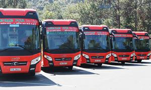 Những chuyến xe phương trang đưa đồng bào Phú Yên về quê tránh dịch