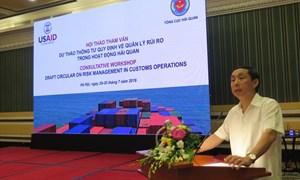 Tham vấn dự thảo Thông tư quy định về quản lý rủi ro trong hoạt động hải quan