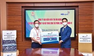 MB Ageas Life ủng hộ 3.000 bộ đồ bảo hộ y tế, 5.000 khẩu trang 3M để chống dịch