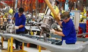 Chỉ số sản xuất toàn ngành công nghiệp tăng trưởng trong khó khăn