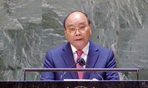 Việt Nam chung nhịp đập sẻ chia, hợp tác, cùng chiến thắng đại dịch, xây dựng một thế giới hòa bình